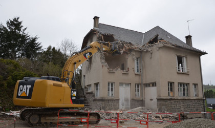 Chantier Lycée Georges Pompidou Aurillac